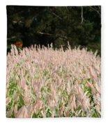 Pink Flames Fleece Blanket