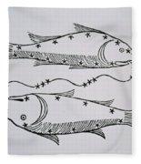 Pisces Fleece Blanket