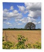 Ploughed Field Fleece Blanket
