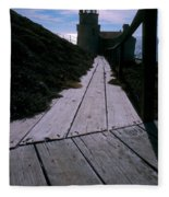 Point Conception Lighthouse Fleece Blanket