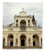 Polirone Abbey Fleece Blanket