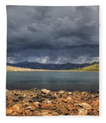 Pomeroy Lake Fleece Blanket