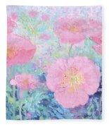 Poppy Garden Fleece Blanket