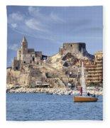 Porto Venere Fleece Blanket