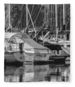 Presque Isle Marina 2013 Fleece Blanket