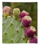 Prickly Pear  Fleece Blanket