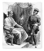 Prince Otto Von Bismarck (1815-1898) Fleece Blanket