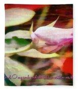 Psalm 103 1 Fleece Blanket