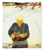Psalm 33 3 Fleece Blanket