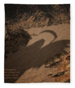 Psalm Fleece Blanket