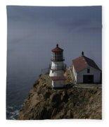 Pt Reyes Lighthouse Fleece Blanket