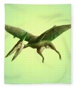 Pterodactyl, Cretaceous Dinosaur Fleece Blanket