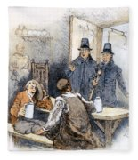 Puritan Tavern Inspection Fleece Blanket