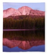 Purple Reflections Fleece Blanket