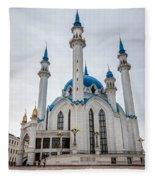 Qolsharif Mosque Fleece Blanket