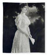 Queen Mary (1867-1953) Fleece Blanket