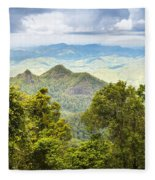 Queensland Rainforest Fleece Blanket