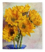 Reaching For The Sun Fleece Blanket