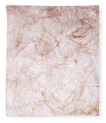 Recycled Paper Texture Fleece Blanket