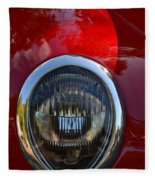 Red Classic Ford Fleece Blanket