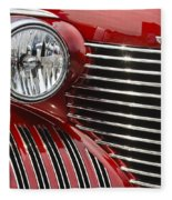 Red Cadillac Fleece Blanket