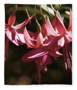 Red Fuchsia Fleece Blanket