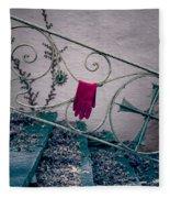 Red Glove Fleece Blanket