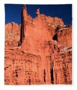 Red Rock Fisher Towers Fleece Blanket
