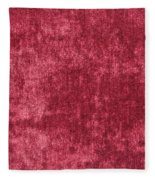 Red Velvet Fleece Blanket