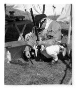 Revolutionary War Battle Site Fleece Blanket