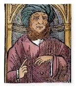 Rhazes (850-923) Fleece Blanket