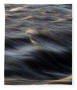 River Flow Fleece Blanket