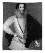Robert Devereux (1566-1601) Fleece Blanket