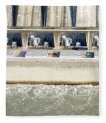 Robert Moses Niagara Hydroelectric Power Station Fleece Blanket