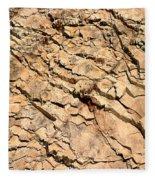 Rock Wall Fleece Blanket