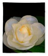 Romance In Bloom Fleece Blanket