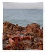 Ross Witham Beach Hutchinson Island Martin County Florida Fleece Blanket