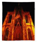 Rouen Church Fleece Blanket