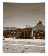 Route 66 - Cool Springs Camp Fleece Blanket