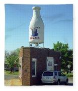 Route 66 - Giant Milk Bottle Fleece Blanket