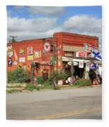 Route 66 - Sandhills Curiosity Shop Fleece Blanket