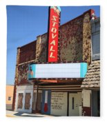 Route 66 - Stovall Theater Fleece Blanket