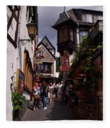 Rudesheim Fleece Blanket