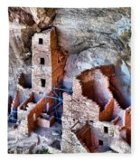 Ruins Fleece Blanket