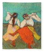 Russian Dancers Fleece Blanket