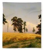 Rye Fleece Blanket