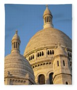 Sacre Coeur Fleece Blanket