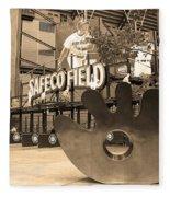 Safeco Field - Seattle Mariners Fleece Blanket