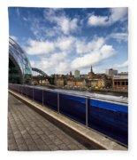 Sage Gateshead And Newcastle Skyline Fleece Blanket