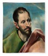 Saint James The Younger Fleece Blanket
